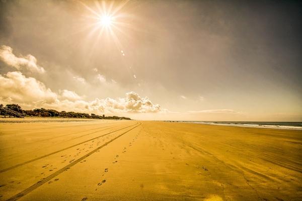 Strand costa de la luz chipiona