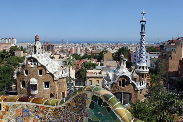 Sehenswürdigkeit Parque Güell Barcelona